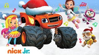 Snow Much Fun!❄️2018 Winter Song | Ft. Blaze, PAW Patrol, Top Wing & More! | Nick Jr.