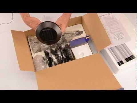 LED Malibu 8506-2120-06 Celestial solar pathway light unboxing assembly