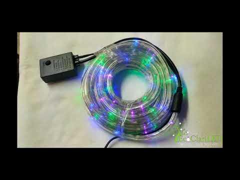 Manguera de gel luces LED Multicolor 10 metros Modelo: ML810