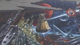 Créer l'incroyable artwork en 3D pour la saison 10 de Doctor Who