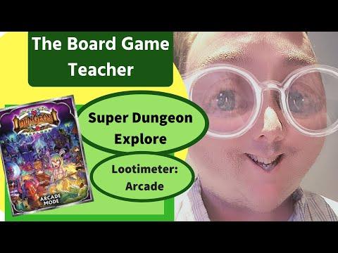 Super Dungeon Explore: Lootimeter Arcade