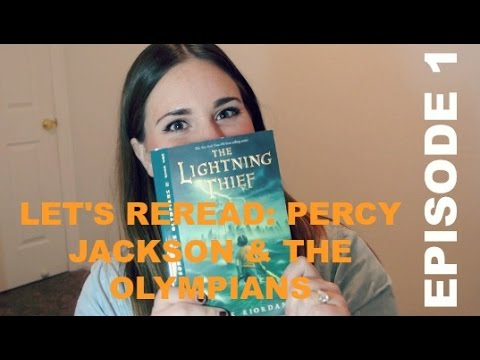 LET'S REREAD: PERCY JACKSON AND THE OLYMPIANS EPISODE 1