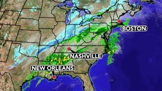 Weather Forecast: Rain, Snow From Louisiana To Maine