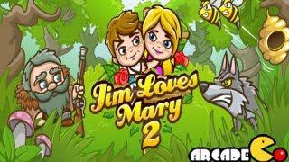 Jim Loves Mary 2 Walkthrough All Levels 1 - 20
