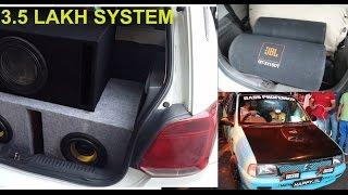 Bass Battle - Delhi's Loudest Car Sound System   American Bass   Pioneer   Rockford   SHAKEDOWN 2017
