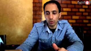 preview picture of video 'أحد المواطنين تعليقاً على قصف غزة : الفلسطينين بيموتو وأحنا بنعيط عشان البرازيل خسرت'