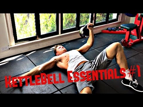 Kettlebell Essentials #1: Single Arm Floor Press (Chest, Shoulders, Triceps, Core)