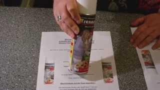 Trennspray für die Küche zum Braten oder Backen