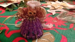 Create Adorable Christmas Angel Ornaments - DIY Home - Guidecentral