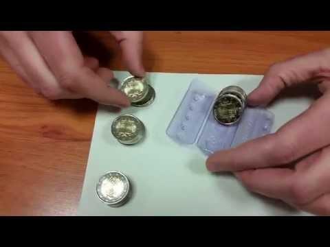 Blister monedas de 2 euros de Andorra