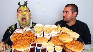Burger King with Orlin • MUKBANG