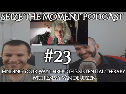 STM Podcast #23: Emmy van Deurzen - Finding Your Way Through Existential Therapy