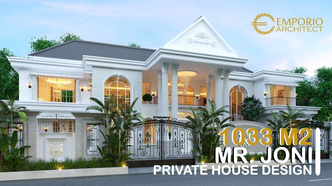 Video 3D Mr. Joni Classic House 2 Floors Design - Padang