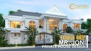 Video Desain Rumah Classic 2 Lantai Bapak Joni di  Padang