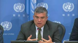 The situation in South Sudan and Somalia - Press Conference (18 April 2017)