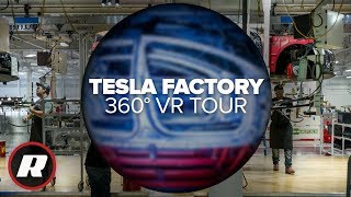 See where Tesla makes its cars in 360 degrees