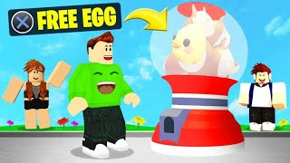 We Found FREE EGGS In ADOPT ME And HATCHED THEM! (Roblox)