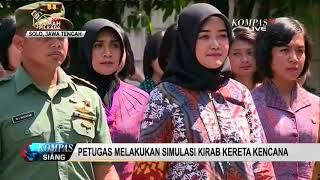 Beginilah Simulasi Kirab Kereta Kencana Pernikahan Kahiyang Ayu-Bobby Nasution