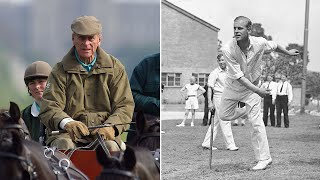 video: Watch: How sport shaped competitive Prince Philip's life
