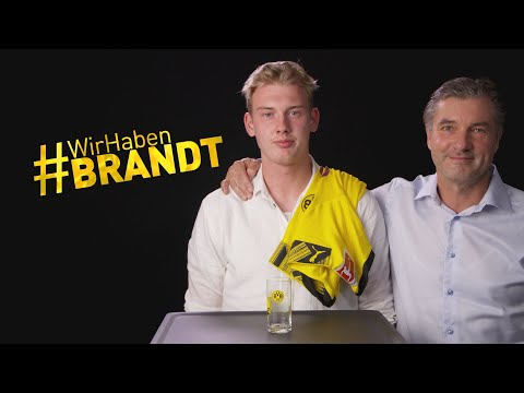 DFB star Julian Brandt joins Borussia Dortmund!