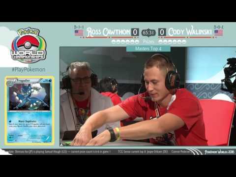 2016 Pokémon World Championships: TCG Masters Top 4