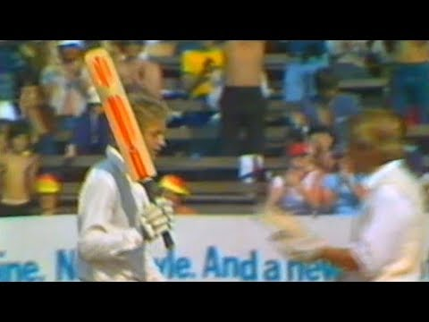 David Gower's First Test Innings!