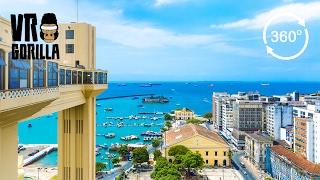 Discover Salvador Da Bahia In A Guided City Tour (360 VR Video)