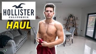 Mens HOLLISTER Clothing Haul & Try-On   Mens Fashion 2020
