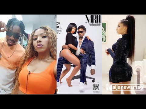 BBNaija's Mercy sits on Ike's lap as they replicate Kylie and Travis loved-up pose