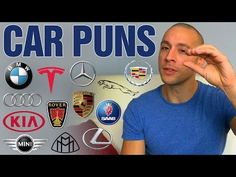 Guy tells hilarious story using 13 car puns!