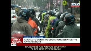 Angkas to continue operations despite LTFRB apprehensions
