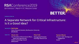 A Separate Network for Critical Infrastructure: Is It a Good Idea?