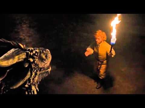 Game of Thrones Season 6 Episode 2 Tyrion Lannister meets Danereys' Dragons