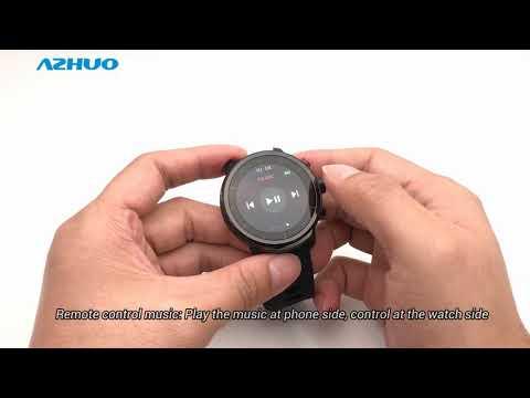 Microwear L5 Waterproof Bluetooth Smart Watch