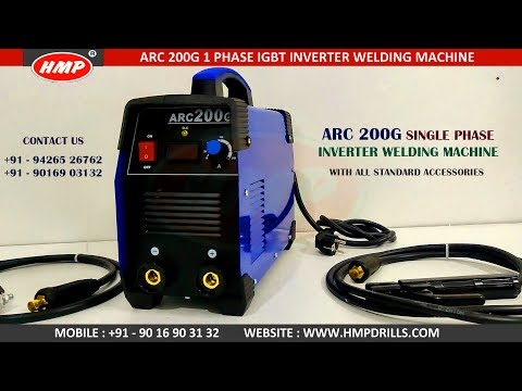 ARC200 Inverter Welding Machine With All Standard Accessories