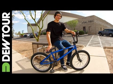 Kevin Peraza Mongoose BMX Bike Check, Dew Tour Setup 2013