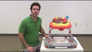 Disney Cars Lightning McQueen Baby Walker Review by zSeek
