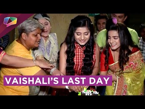 Vaishali Thakkar's Last Day On The Sets Of Sasural Simar Ka | Colors Tv