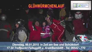 preview picture of video 'Glühwürmchenlauf in Zell am See-Kaprun 2015 - Trailer'