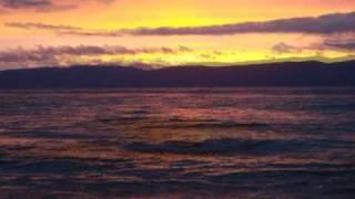 БАЙКАЛ, Закат на Озере Байкал