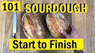 101: Beginners Sourdough Loaf, Start to Finish - Bake With Jack