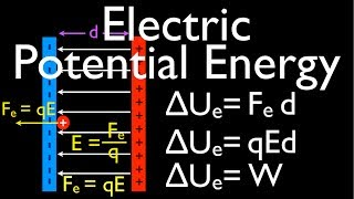 Uniform Electric Field (4 of 9) Electric Potential Energy due to Parallel Plates: An Explanation