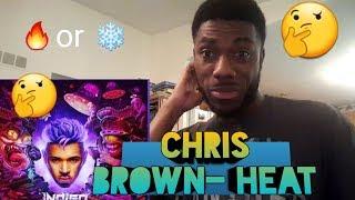 Chris Brown   Heat (Audio) Ft. Gunna Reaction.