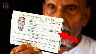 This man is the oldest man on the planet, airport workers were shocked to see his passport