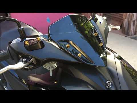 2020 Yamaha Aerox 155 Black Raven (No Decals Edition)