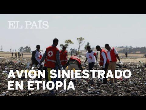 Deja accidente de avión en Etiopía más de 150 muertos