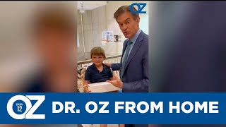 Filming The Dr. Oz Show from Home!