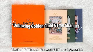 Unboxing Golden Child's 2nd Full Album Game Changer ✰ Limited, Normal 1,2,&3