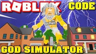 Roblox God Simulator Codes
