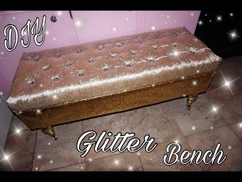 DIY Glitter Furniture | Annie Penta